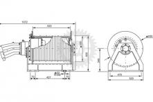 Вспомогательная лебедка ЛГ-35