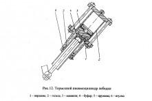 Пневмоцилиндр тормозной А50М.02.03.240