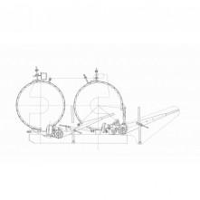 Тормоз лебедки А60/80.02.03.000Б