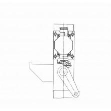 Установка путевого выключателя А60/80.01.11.000-01