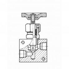 Вентиль игольчатый А60/80.АР32.39.03.900
